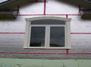 Exterior window trims A