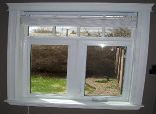 Interior window trims A